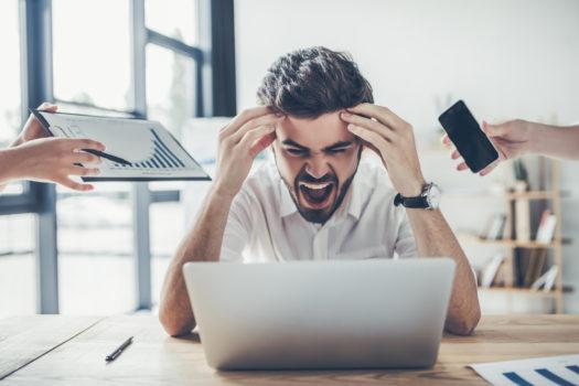 Hoe ga je om met een te hoge werkdruk